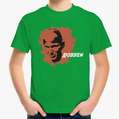 Детская футболка Роббен