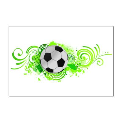 Наклейка (стикер) Футбольный мяч