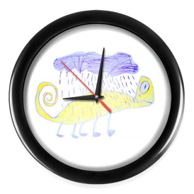 Настенные часы Хамелеон