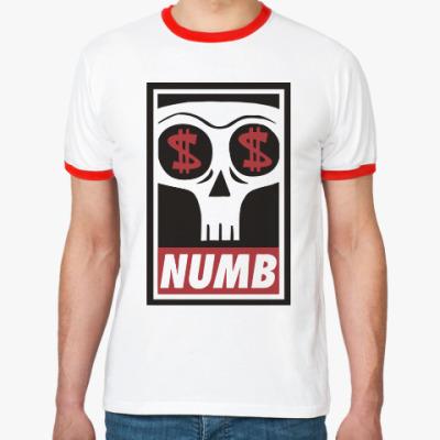 Футболка Ringer-T Numb