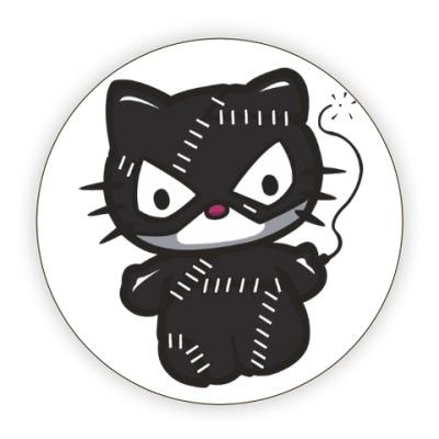 Костер (подставка под кружку) Китти Женщина-кошка