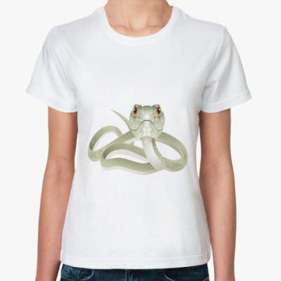 Классическая футболка Snake