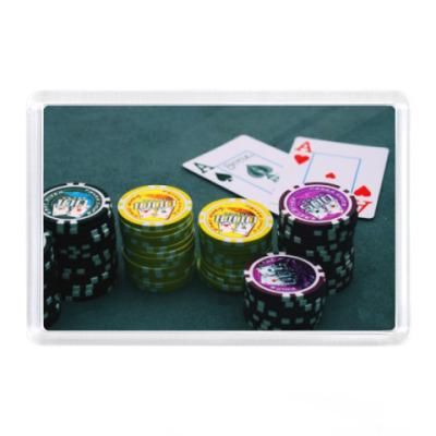Магнит Покер