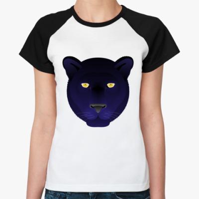 Женская футболка реглан   Panthera