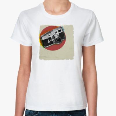 Классическая футболка my camera