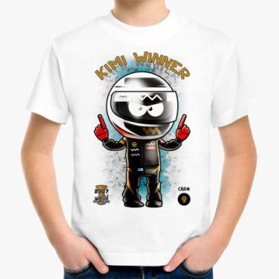 Детская футболка Kimi Winner!