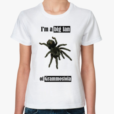 Классическая футболка Grammostola