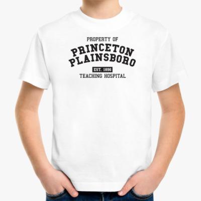 Детская футболка Принстон Плэйнсборо