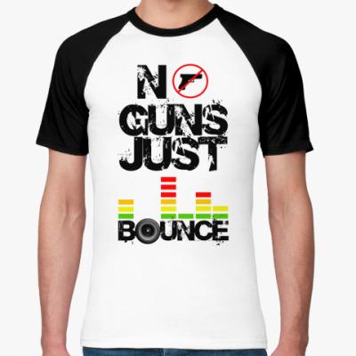 Футболка реглан No Guns