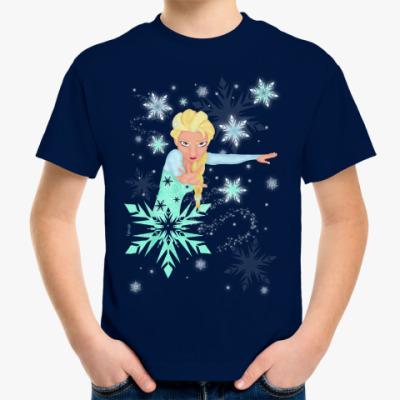 Детская футболка Эльза