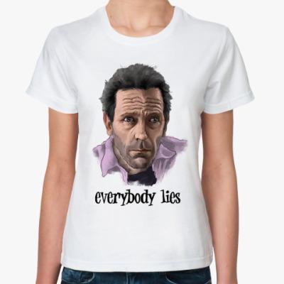 Классическая футболка  House M.D.