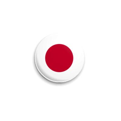 Значок 25мм  Япония
