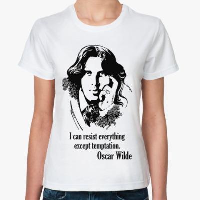Классическая футболка Oscar Wilde