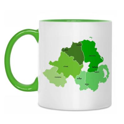 Кружка Northern Ireland