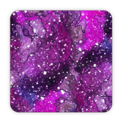 Костер (подставка под кружку) Звёздная абстракция