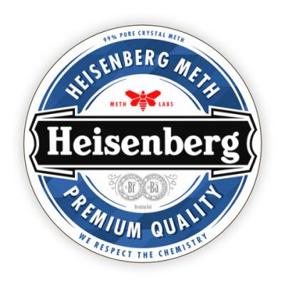 Костер (подставка под кружку) Heisenberg Meth (Breaking Bad)