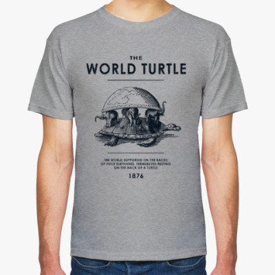 Футболка  World Turtle