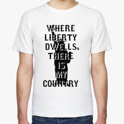 Футболка Liberty dwells