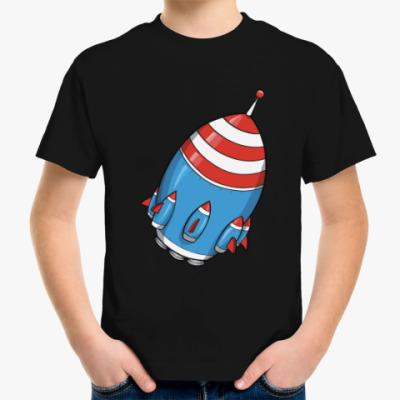 Детская футболка Космос. Ракета