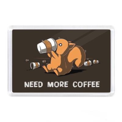 Магнит Need More Coffee