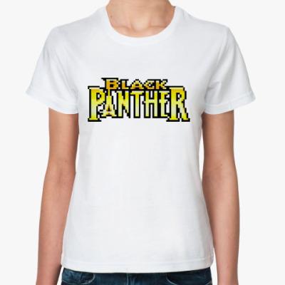 Классическая футболка  Black Panhter