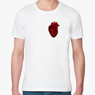 Футболка из органик-хлопка Анатомическое Сердце