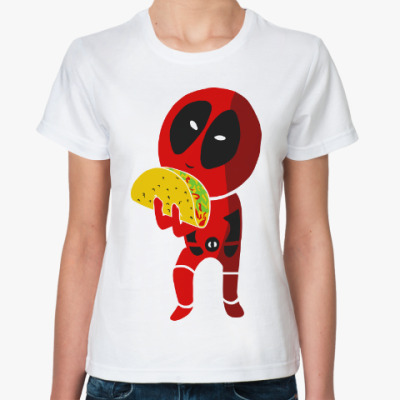 Классическая футболка Дэдпул