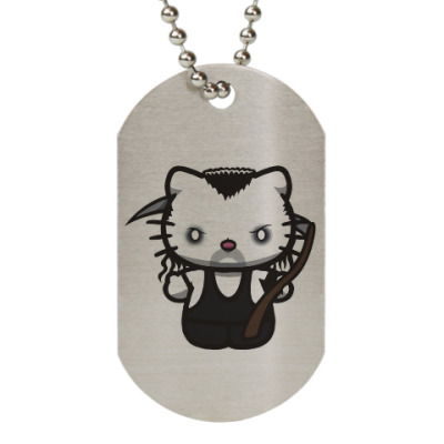 Жетон dog-tag Kitty Undertaker