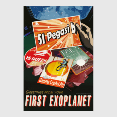 Постер 51 Pegasi b: greetings from your first exoplanet