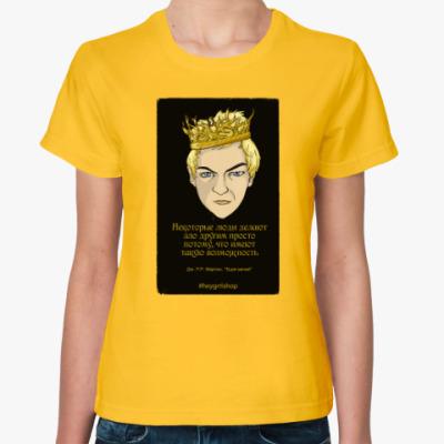 Женская футболка Джоффри Баратеон