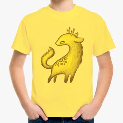 Детская футболка Зверь