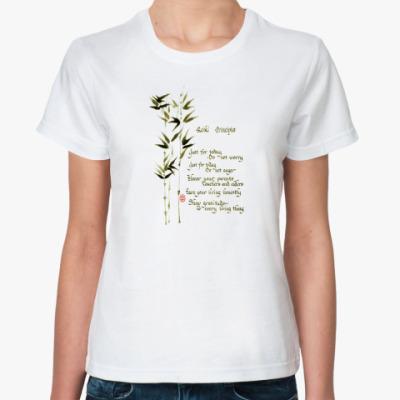 Классическая футболка Принципы рэйки