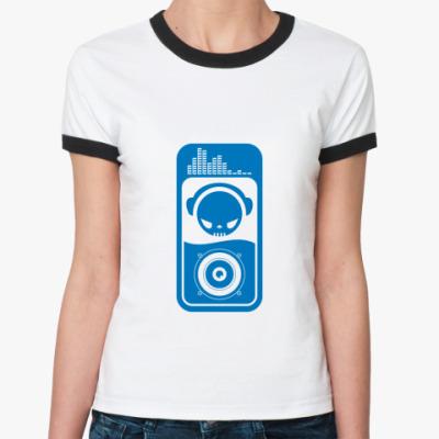 Женская футболка Ringer-T Dj