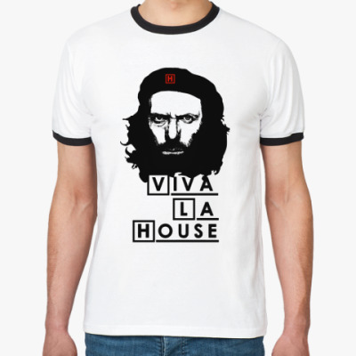 Футболка Ringer-T Viva La House
