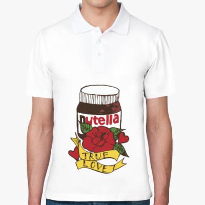 Рубашка поло Nutella Нутелла Шоколад
