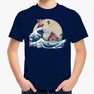 Детская футболка Волна приключений
