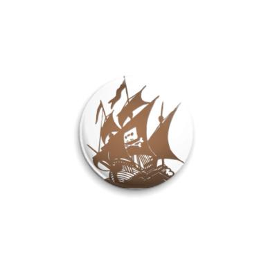 Значок 25мм  The Pirate Bay