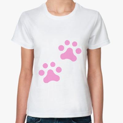 Классическая футболка Лапки