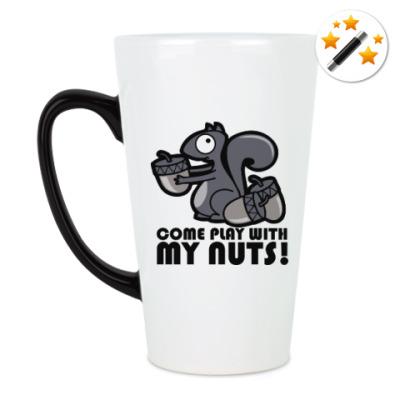 Кружка-хамелеон Play with my nuts