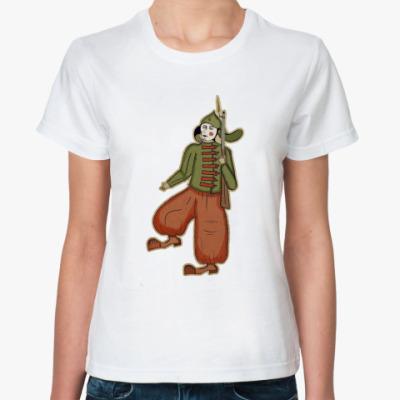 Классическая футболка революционер