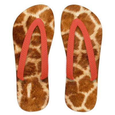 Шлепанцы (сланцы) Жираф