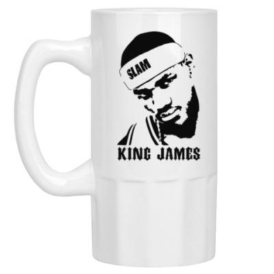 Пивная кружка King James