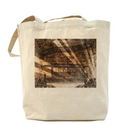 Сумка Холщовая сумка Стимпанк