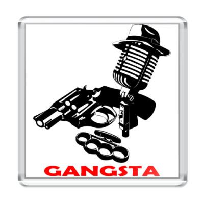 Магнит Rap Gangsta