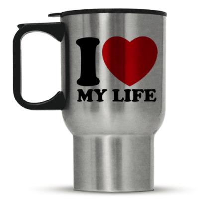 Кружка-термос Люблю свою жизнь