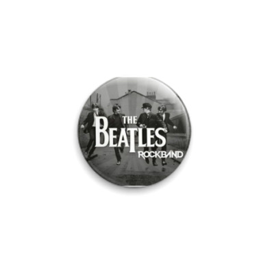 Значок 25мм The Beatles!