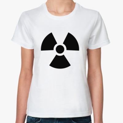 Классическая футболка радиация