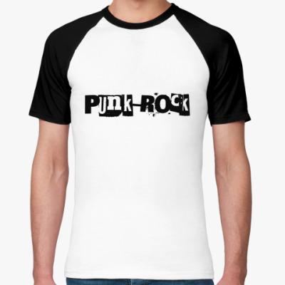 Футболка реглан Punk-Rock
