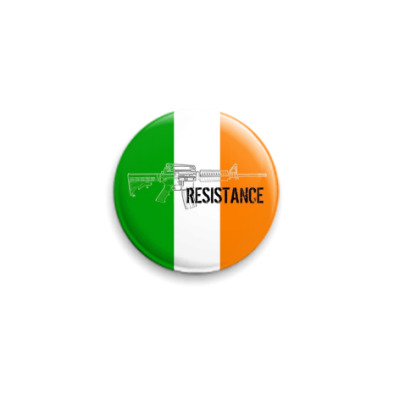 Значок 25мм  'Free Ireland'