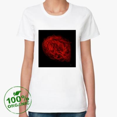 Женская футболка из органик-хлопка Agni (Barandash)